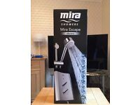 Bought new (£299.81), never used, still in box, Top of the range Mira Escape Electric Shower.