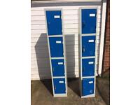 Lockers in excellent condition