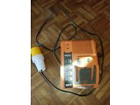 RIDGID RAPID MAX BATTERY 110v CHARGER 9.6v-18.0v R840091 9.6V/12.0V/14.4V/18V USED