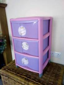 Girls princess drawers