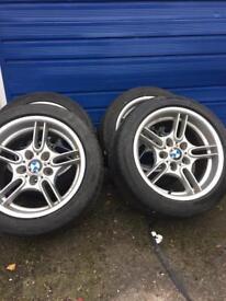 "BMW 17"" M SPORT ALLOY WHEELS #DRIFT"