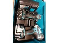Makita 18vdrill and impact wrench