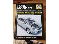 Haynes manual for mondeo mk 4