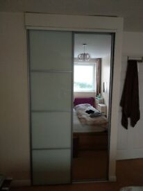 Full length Sliding Wardrobe Door Kit