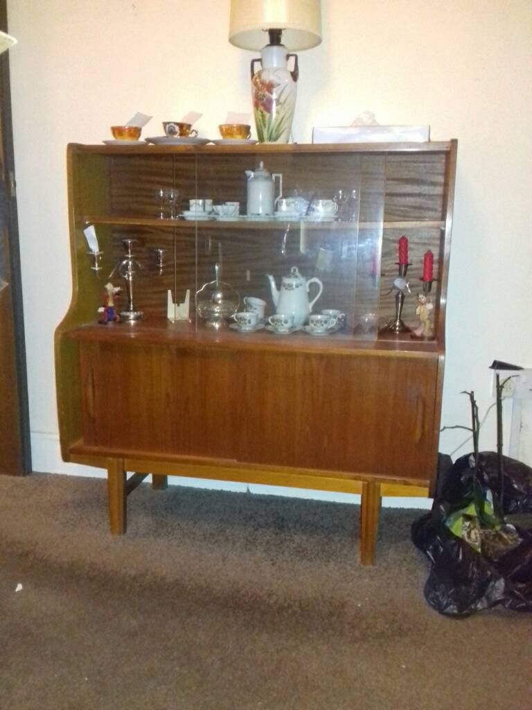 Sideboard Display cabinets. Cupboards with sliding glass door