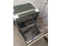 Beko integrated dishwasher £100