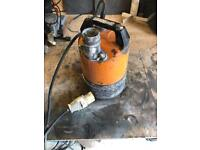 Used 110v Sump Pump In Good Working Order