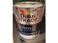 Dulux Trade Vinyl Matt - Rose White 3 x 5L