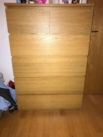 Ikea Malm chest of drawers Excellent condition