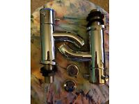Pillar Bath Taps - never used. £20 for both hot and cold taps