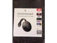 Google Chromecast 2 LATEST 2016 - Brand New -