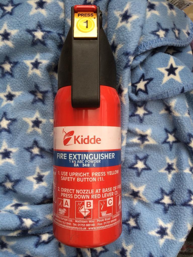 Fire extinguisher £7