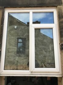 Double Glazed window and frame