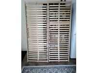 Sprung slatted bed base 4' 6'' double