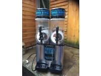 Ice twin tank slush machine