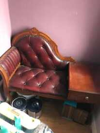 Chesterfield style telephone table