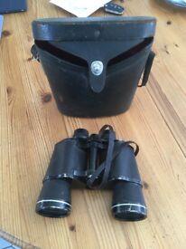Asahi Pentax 10 x 50 Binoculars with case