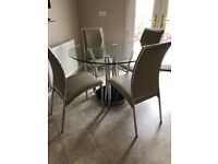 Dining/ Kitchen Table & 4 Chairs - Bargain Price