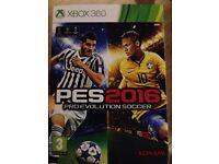 Pro Evolution Soccer (PES) 2016 for XBox 360