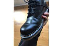 Black Leather Doc Martens size 8