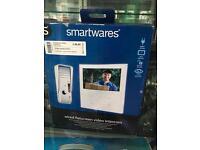 Smartwares Wired Flatscreen Video intercom - new