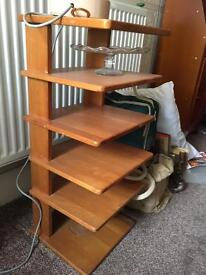 Small shelves / lamp stand