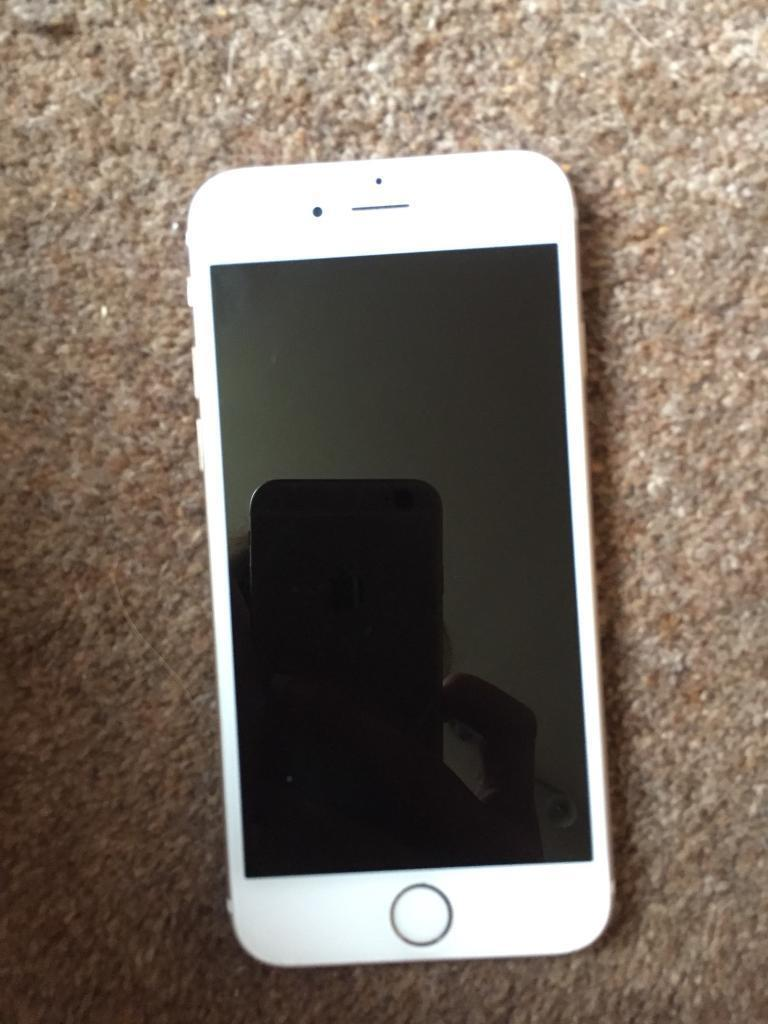 iPhone 6 Rose Gold (o2) Used but in very good condition