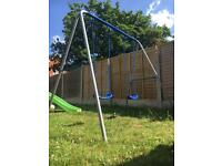 Swing and slide for sale