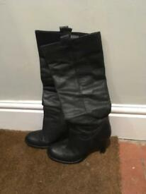Russell & Bromley - Black Boots - size 6