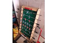 Folding Football table