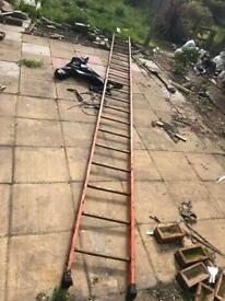 6 metre metal/iron scaffold ladder