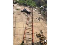 6 metre metal/iron scaffold ladder