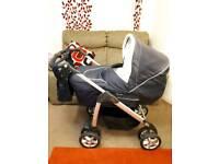 Silvercross sleepover pram/buggy with stand