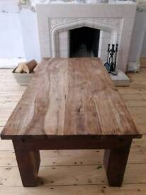Beautiful Solid Wood Coffee Table