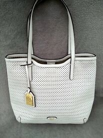 Ralph Lauren Leather Bag White - £50 ONO - Pick up Blyth
