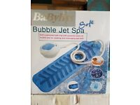 Babyliss; bubble jet spa; still in box