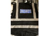 Black Security HiVis
