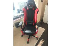 DX Racer Gaming Chair (Black and Red) Perfect Condition