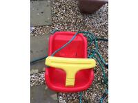 Baby toddler swing seat