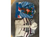 Boys winter jumpers, 2-3 yrs