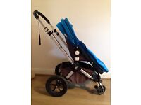 Fabulous Bugaboo pram, pushchair, in great condition, with cosytoes & raincover included