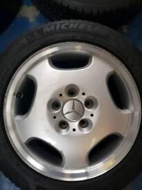 Mercedes-Benz alloy wheels