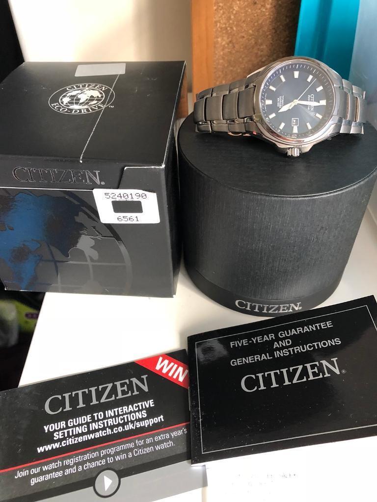 Citizen Eco Drive Titanium watch | in East Kilbride, Glasgow | Gumtree