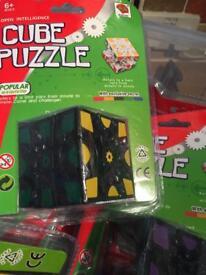 LIN HUI toys gear cube puzzle Rubik's cube