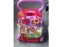 Baby girls activity walker