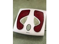 HoMedics Foot Massager with heat (Improve Circulation, Pain Relief Treatment)
