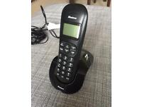 Binatone Vesta 1215 Cordless Phone w Answering Machine - Like New!
