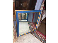 Mirror , size W 30 in H 36 in feel free to view 6 available at £45 each ....