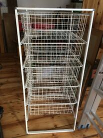 Wire / Metal Basket Drawers