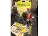 Red Nutribullet blender - 600 series